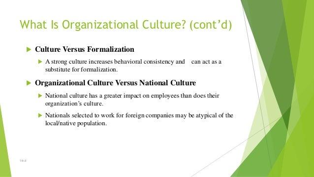 Organisational culture and change management Slide 3