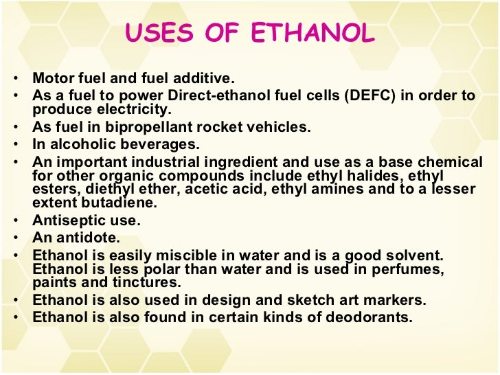 Ethanol Water Physical Properties