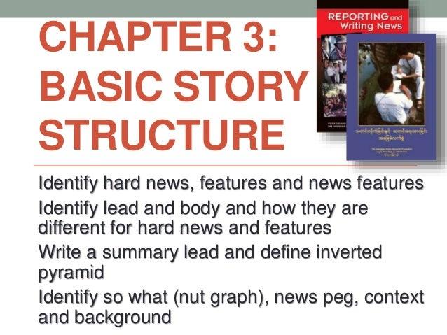 writing a basic news story