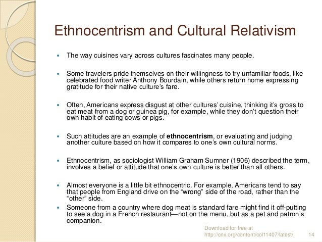 Ethnocentrism And Cultural Relativism Examples Differences Between Ethnocentrism And Cultural Relativism Essay