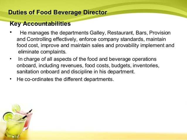 Chapter 3   food & bev Slide 3