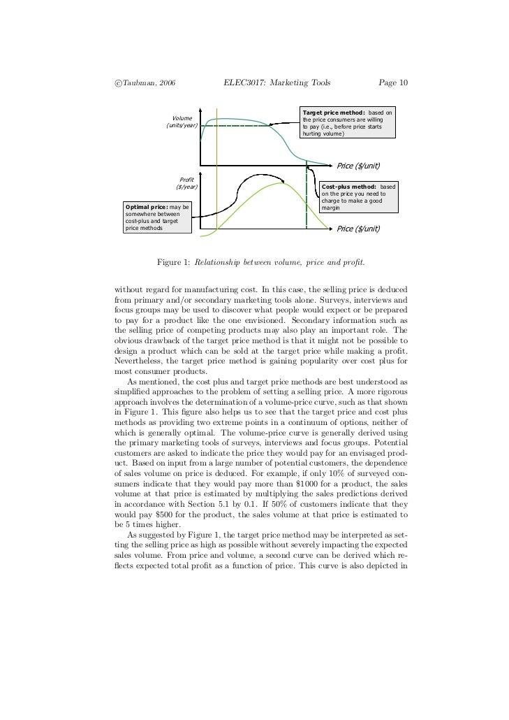 c°Taubman, 2006                 ELEC3017: Marketing Tools                       Page 10                                   ...