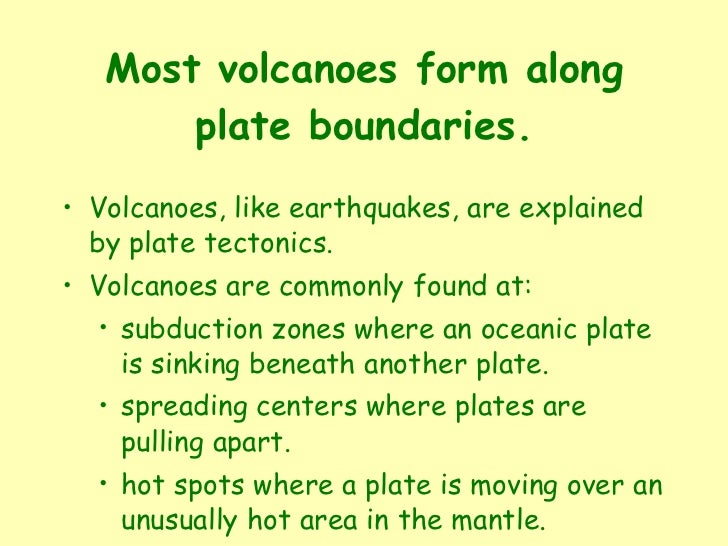 Chapter 3 Mountains and Volcanoes
