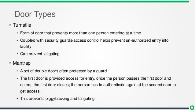 Cissp Chapter 3 Physical Security
