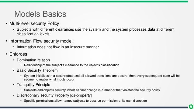 CISSP - Chapter 3 - System security architecture