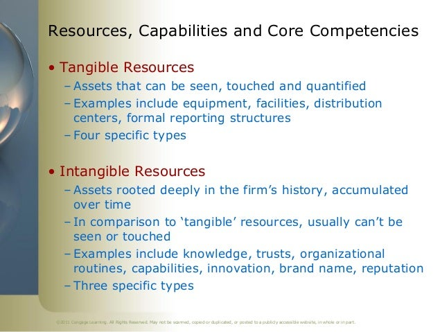 dell internal resources and capabilities The activities and processes of the organization utilize certain assets these assets are - resources, competencies and distinctive capabilities.