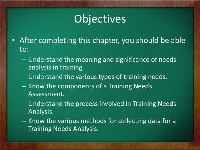 what is training need analysis pdf