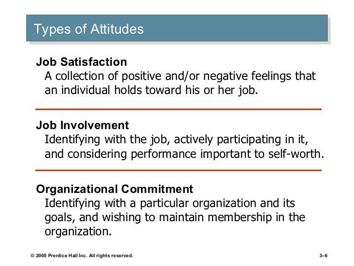 chapter 3 values attitudes and job satisfaction Chapter 3: values, attitude, and job satisfaction values, attitude, job satisfaction nilai merupakan keyakinan dasar nilai memiliki 2 atribut yaitu konten dan.