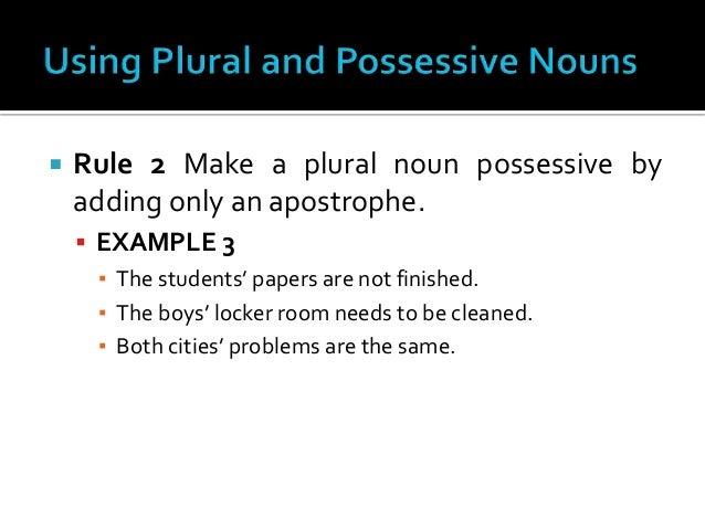 Chapter 3 writing better sentences for Bureau plural
