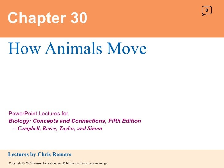Chapter 30 How Animals Move 0