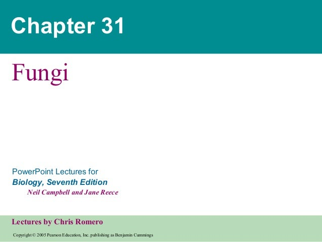 Copyright © 2005 Pearson Education, Inc. publishing as Benjamin Cummings PowerPoint Lectures for Biology, Seventh Edition ...