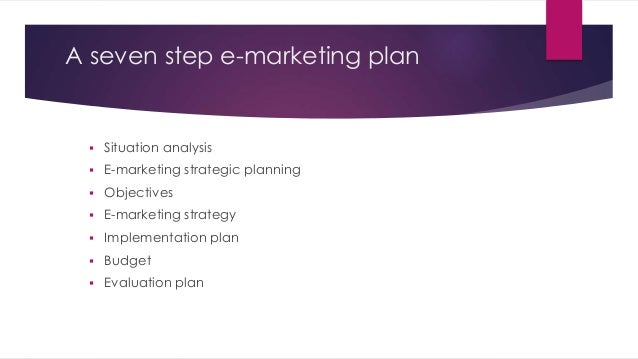 Seven-Step E-Marketing Plan For Chesapeake Bay Foundation