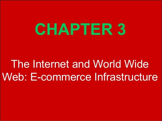 CHAPTER 3 The Internet and World WideWeb: E-commerce InfrastructureCopyright © 2002 Pearson Education, Inc.   Slide 3-1