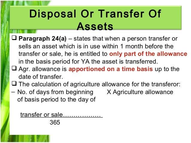 Chapter 3 agriculture allowance studnt Slide 15