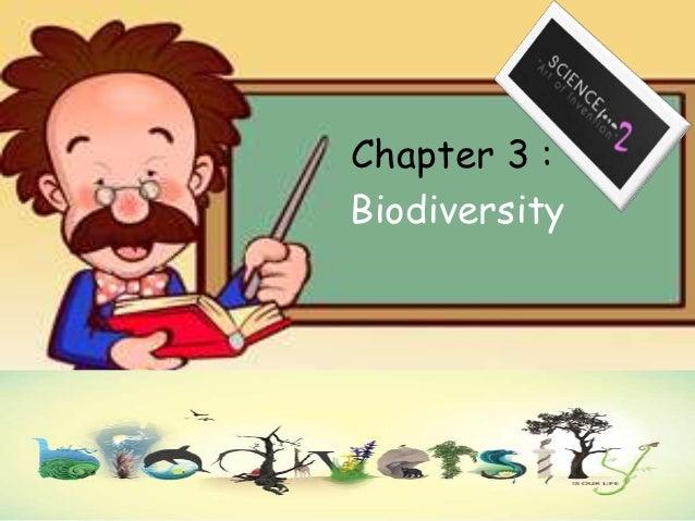Chapter 3 :Biodiversity