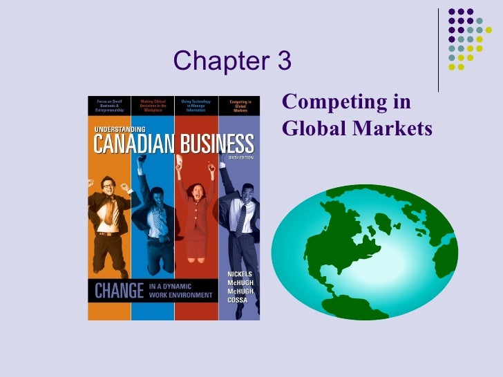 Chapter 3 Competing in Global Markets