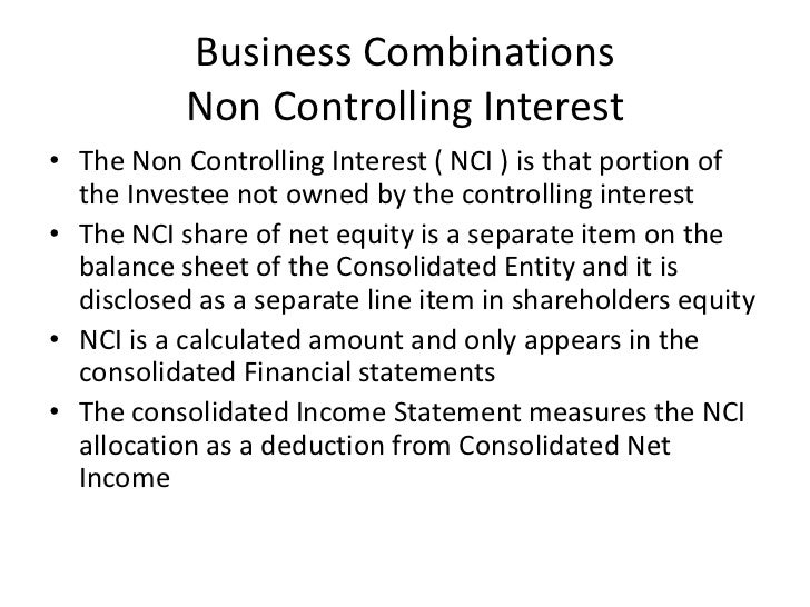 Chapter 3 business combinations for Terest definition