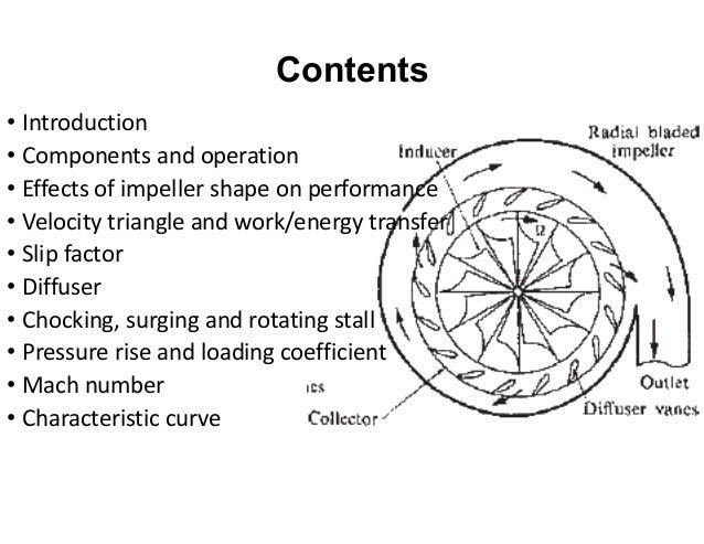centrifugal compressor diagram