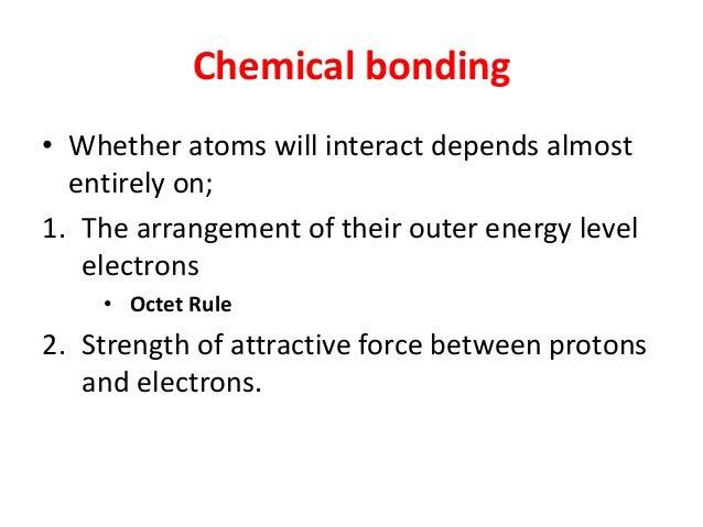 Chapter 3 Chemical Bonding