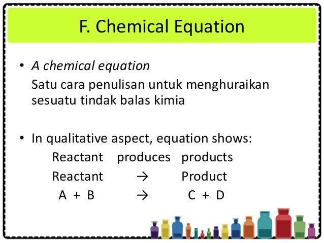 Chapter 3 Chemical Formulae And Equations