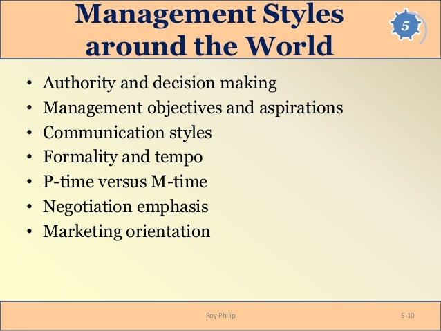 culture and management styles Although historically leadership styles between western and chinese cultures have been viewed as quite different, both have been evolving and signs of convergence are emerging therefore.
