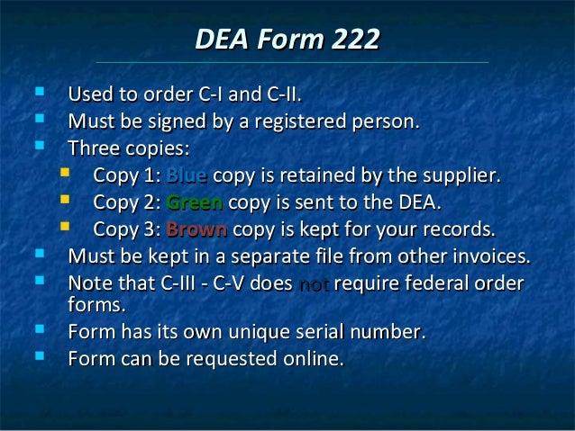 Chapter 3 drug regulation and control