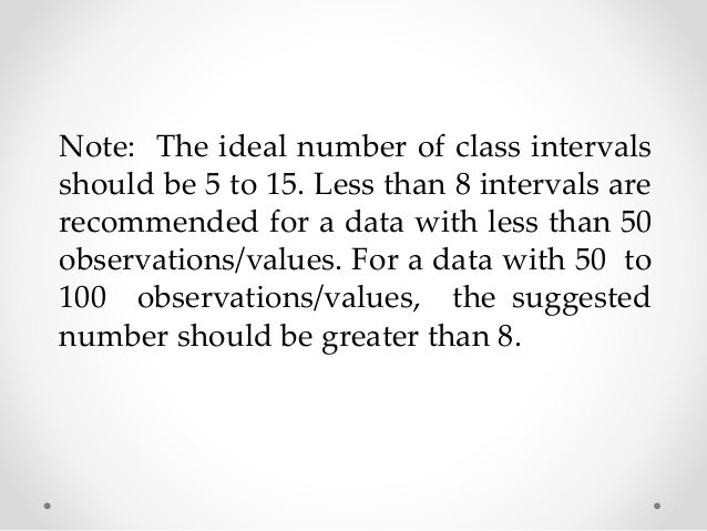 Solution:  1. R = Highest Score – Lowest Score  R = 90 – 51  R = 39  2. k = 8 (desired interval)  3. i = R/k  i = 39/8  i ...