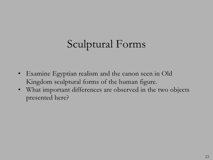 A comparison between the ancient egyptian sculptures of khafre and the seated scribe