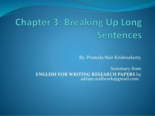 500 English Sentences Essays and Term Papers