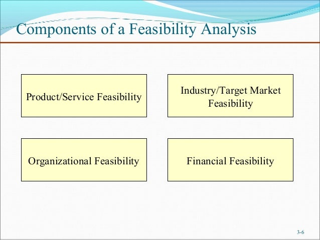 6. Components Of A Feasibility ...