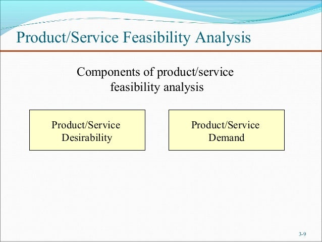 Chapter 3 Feasibility analysis(lecture 4 & 5)