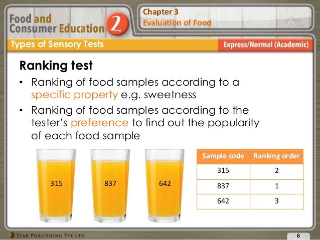 lab report for food test Because it is important to use the most suitable analytical tool in order to get  meaningful answers to your questions, our food testing laboratory.