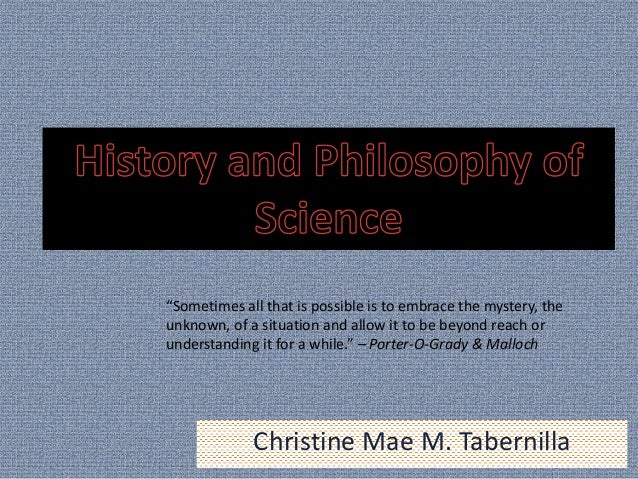 """Christine Mae M. Tabernilla """"Sometimes all that is possible is to embrace the mystery, the unknown, of a situation and all..."""