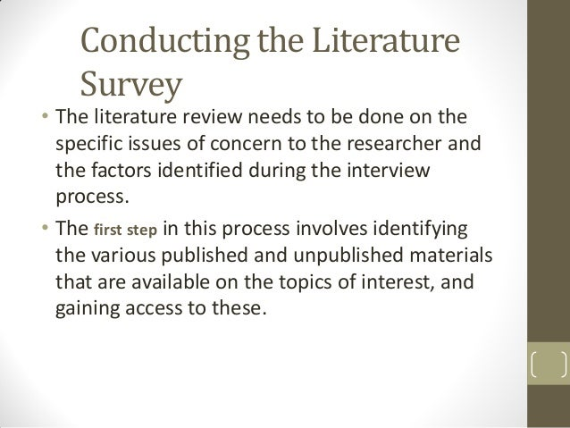 Key points in writing a literature review    Need help creating a     SlideShare Page