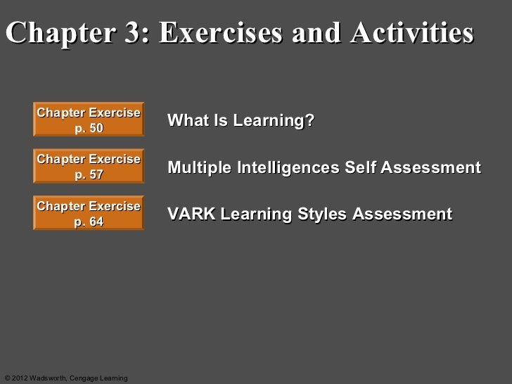 activities and learning exercises ch 3 Answers to odd-numbered reinforcement exercises business english cengage learning chapter 3 exercise b 1 b 7 d 3 5 b d.