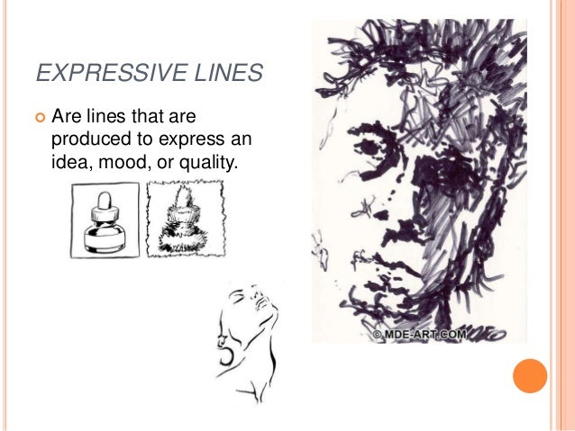 Lines Are Used In Art To Indicate : Chapter line