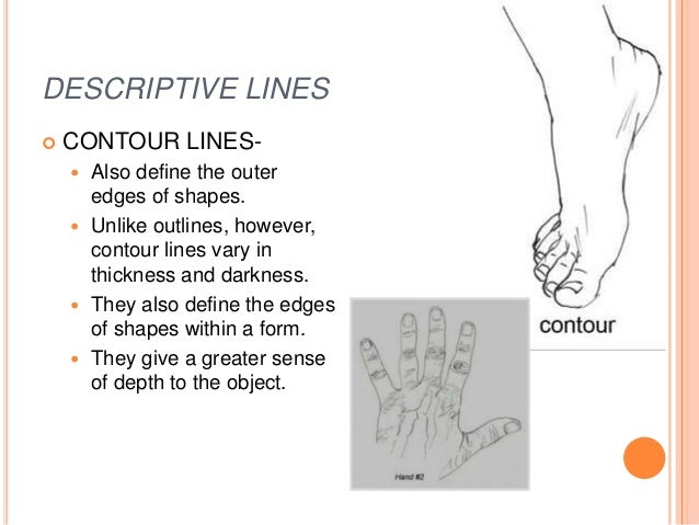 Contour Line Definition Art : Chapter line