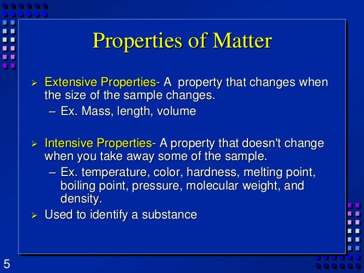 What Is Intrinsic Physical Property