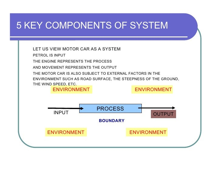 components of management information system Computer security and computer ethics are important components of  management information system this exploratory study examined the computer  security.