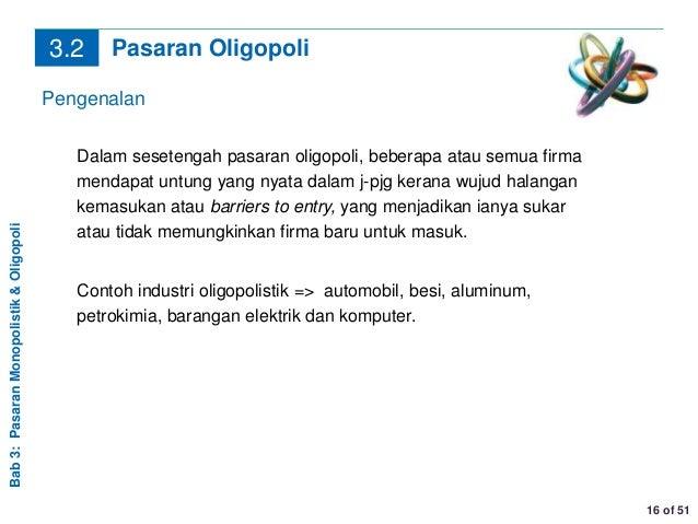 Chapter 3 Monopolistik Oligopoli
