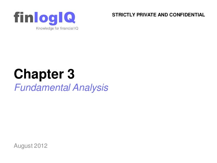 finlogIQ       Knowledge for financial IQ                                    STRICTLY PRIVATE AND CONFIDENTIALChapter 3Fun...