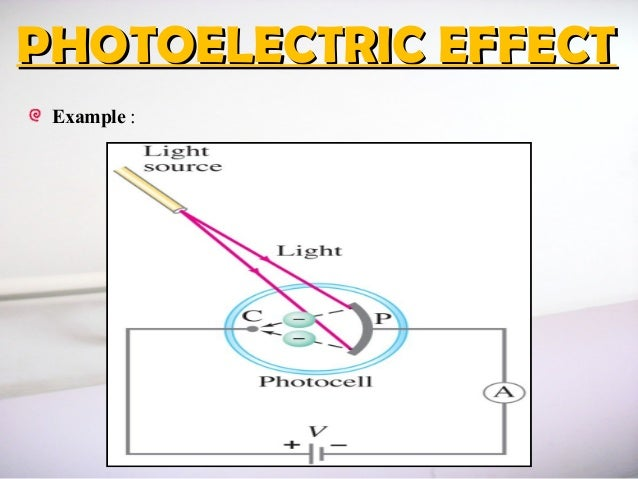 Chapter 3 photoelectric effect Photoelectric Effect Circuit