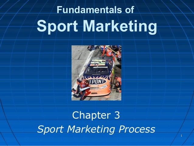 Fundamentals ofSport MarketingChapter 3Sport Marketing Process 11