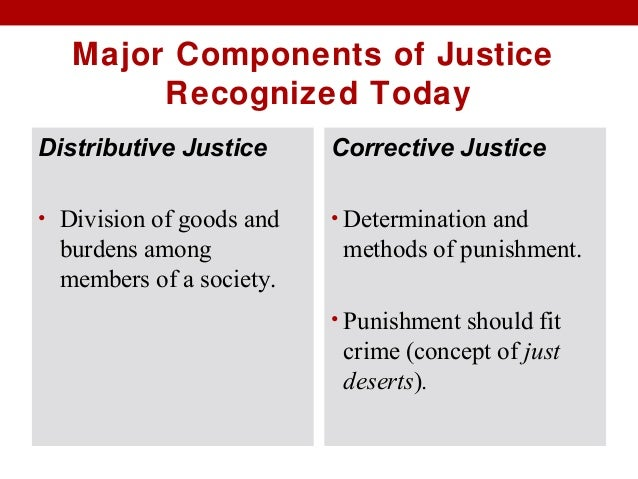 distributive corrective and commutative justice By michelle maiese june 2013 (originally published in june 2003 updated in june 2013 by heidi burgess) the notion of fair distribution distributive justice is concerned with the fair allocation of resources among diverse members of a community.