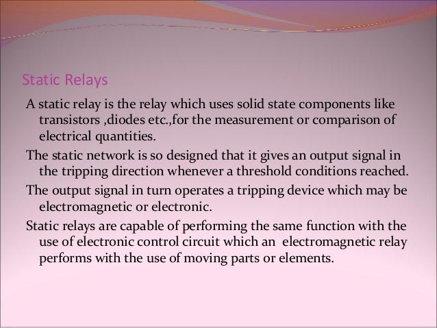 Relays - Electromagnetic relay meaning