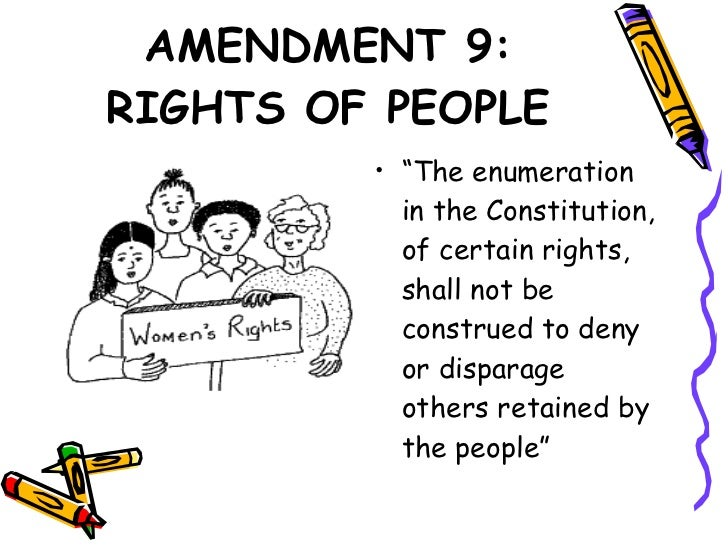 Amendment 9 Rights Of The People | www.pixshark.com ...