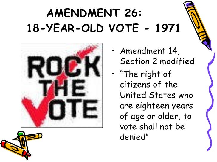 26th amendment Find out more about the history of 19th amendment, including videos, interesting articles, pictures, historical features and more get all the facts on historycom.