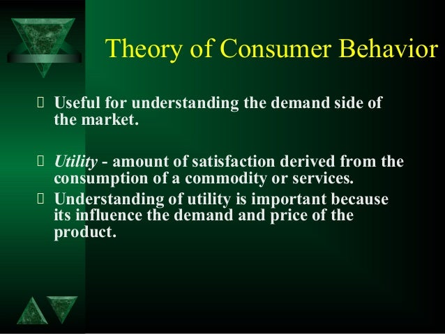 cardinal vrs ordinal approach of consumer behaviour How is indifference curve analysis superior to marshallian cardinal utility analysis of consumer's behavior assumptions by ordinal utility approach.