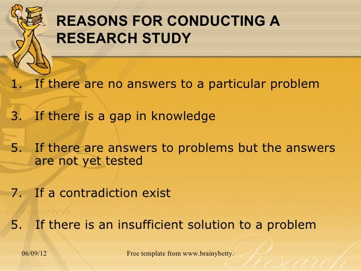 Conducting a research paper