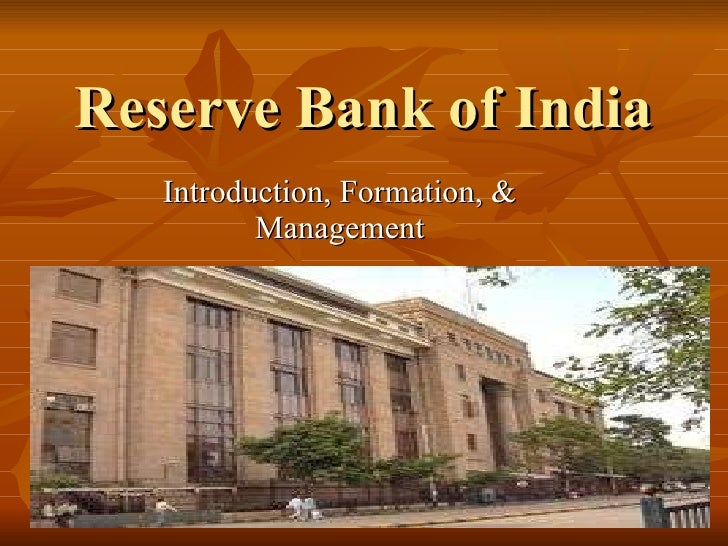Functions of reserve bank of india essay